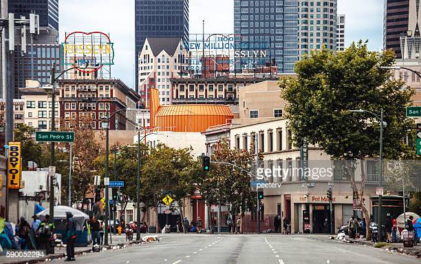 Worlds Best Downtown Los Angeles Streets Stock Pictures