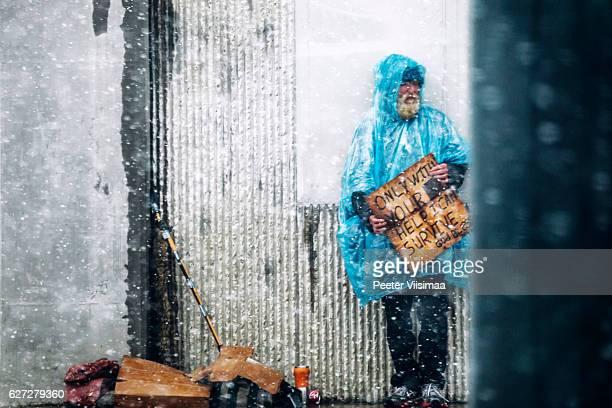 Homeless people. Denver, Colorado.