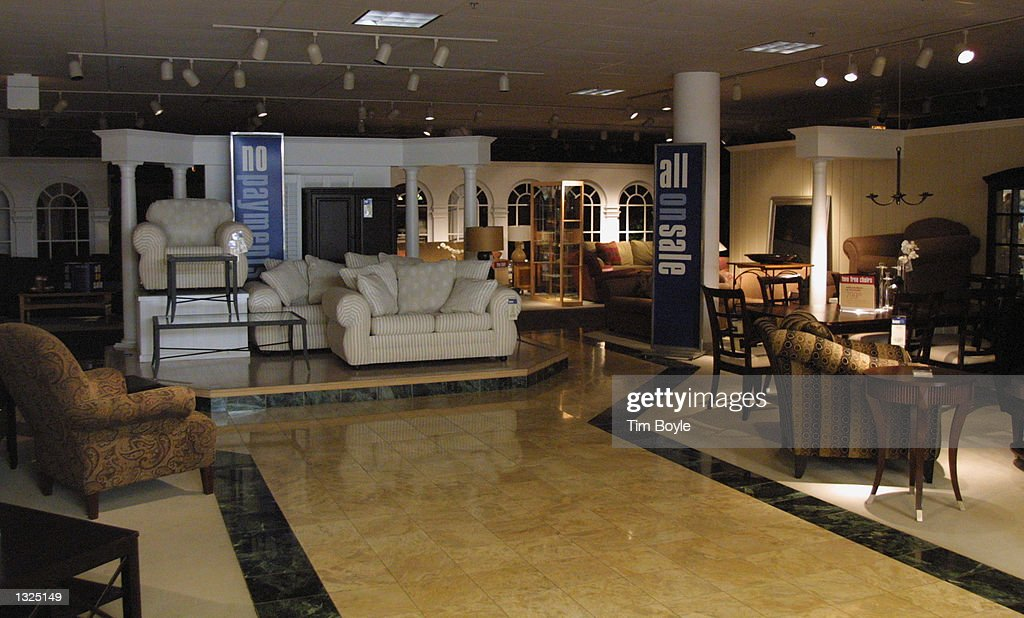 HomeLife Furniture Store Is Empty Of Customers July 11 2001 At Woodfield  Mall In Schaumburg IL