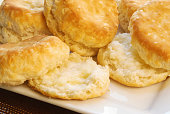 Homemade Baked Buttermilk Biscuits