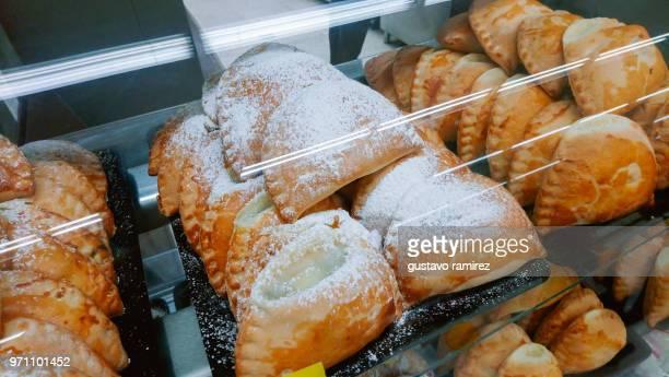 homemade baked vegetarian empanadas - empanada stock pictures, royalty-free photos & images