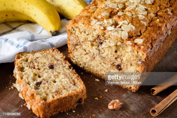 Homemade Banana Bread Loaf