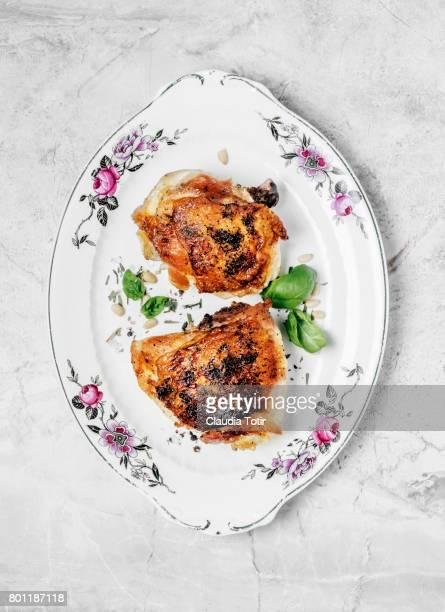 Homemade braised chicken thighs
