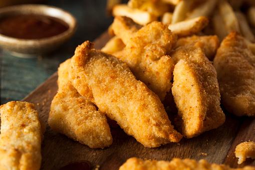 Homemade Breaded Chicken Tenders 481768548