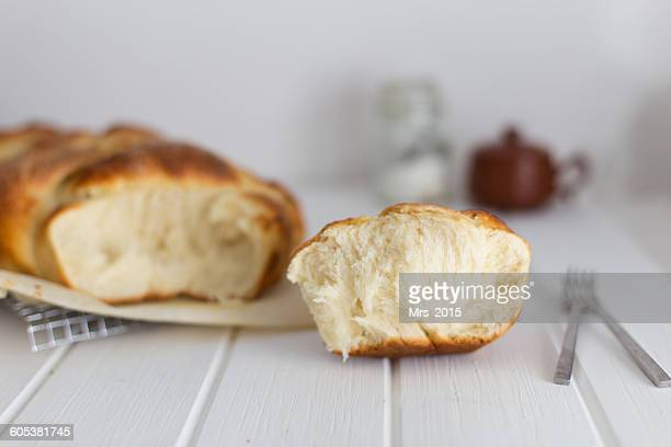homemade brioche bread - brioche stock pictures, royalty-free photos & images