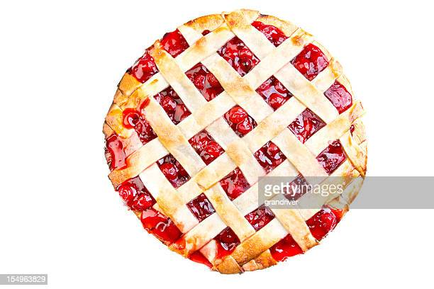 Homemade Cherry Pie Lattice Crust