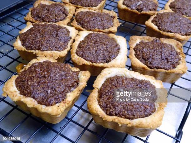 homemade chocolate boconotti tarts