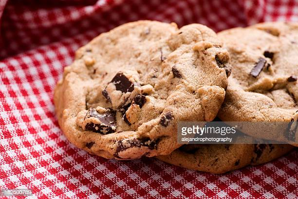 Homemade chocolate chip cookies