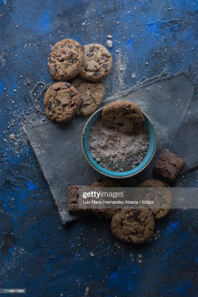 Homemade Chocolate Cookies : Stock-Foto