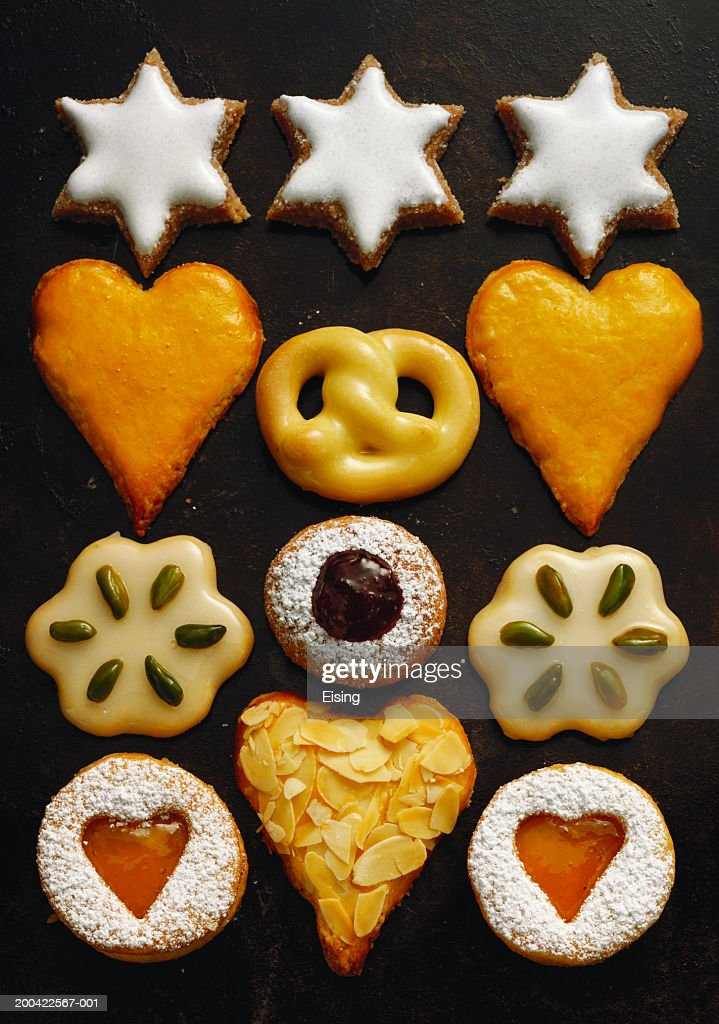 Homemade Christmas Biscuits Stock Photo Getty Images
