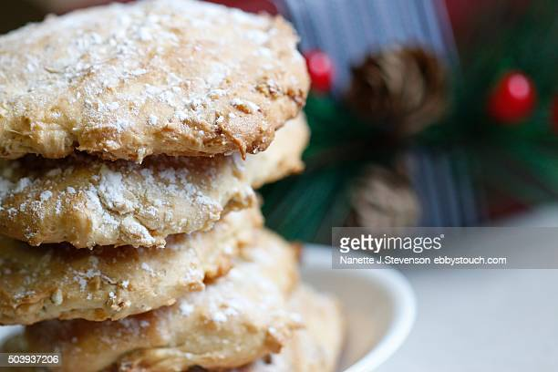 homemade cookies - nanette j stevenson stock photos and pictures