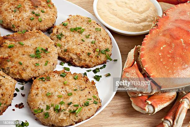 Homemade Crab Cakes With Remoulade