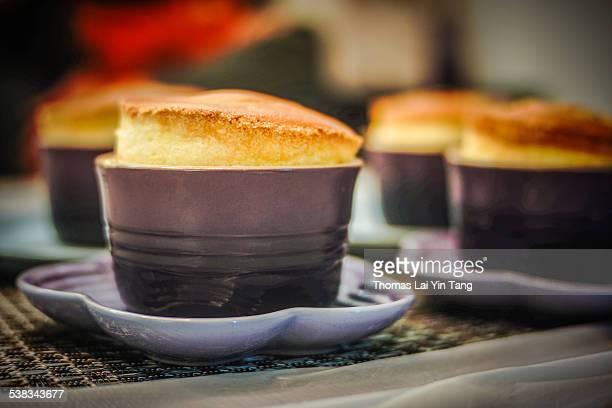 Homemade dessert on table