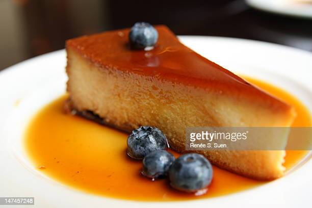Homemade Flan with Caramel