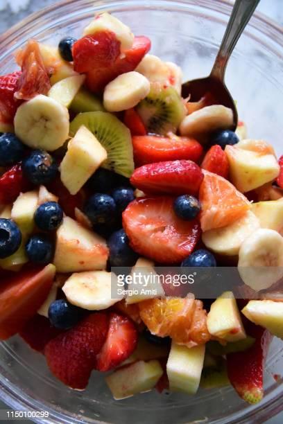Homemade fruit salad