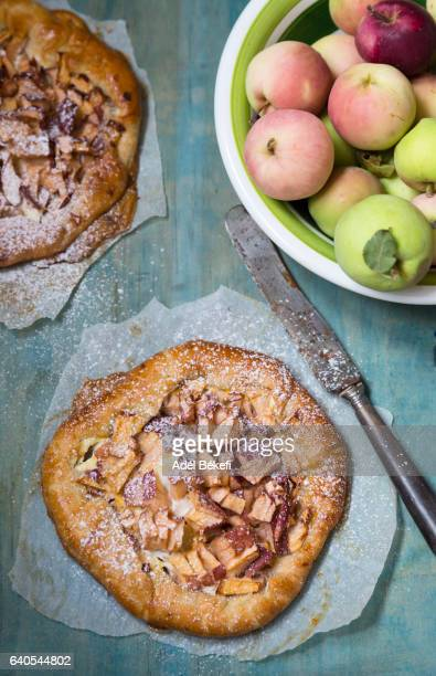 Homemade galette (pie with apples)