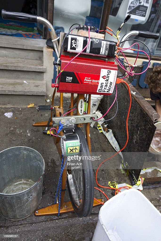 A Homemade Generator Bike Is Seen At The Museum Of Reclaimed Urban News Photo Getty Images