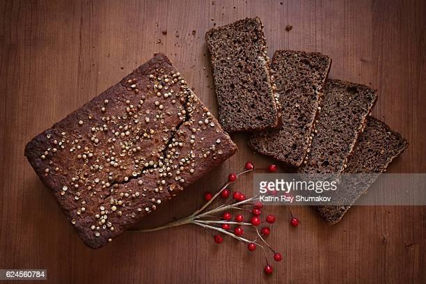 Homemade Gluten-Free Dark Brown Bread