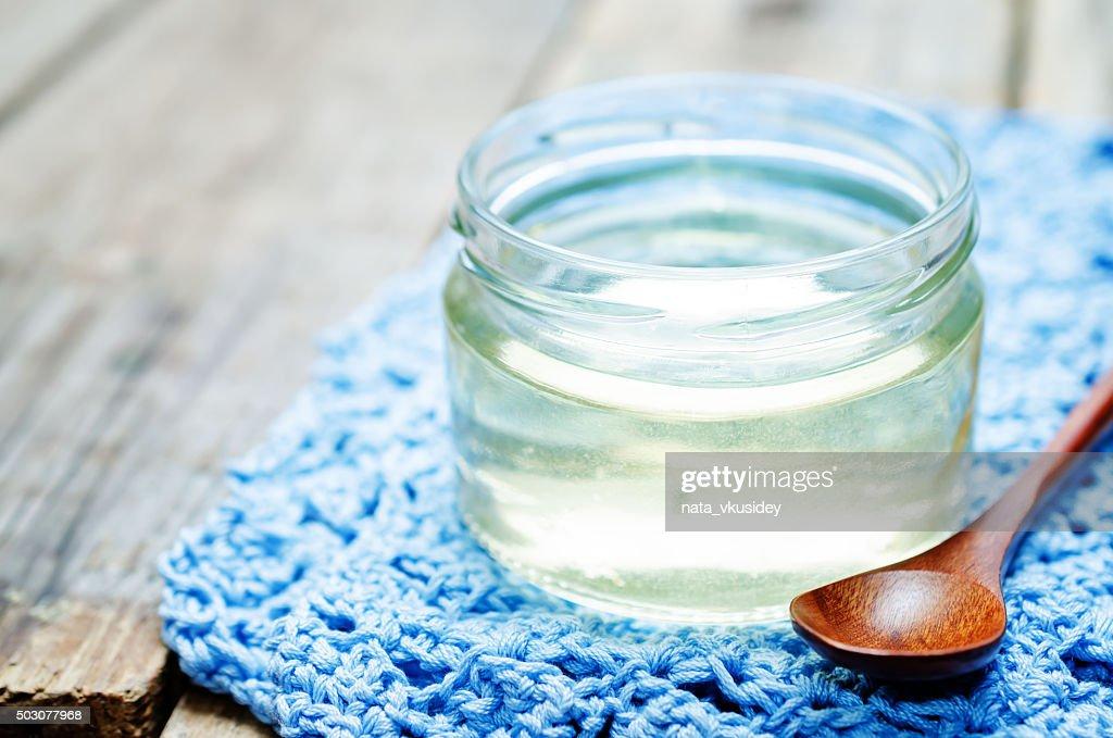 Homemade invert syrup : Stock Photo