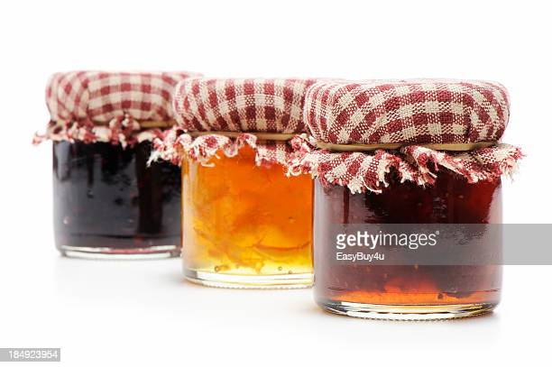 homemade jellies - jam stock pictures, royalty-free photos & images