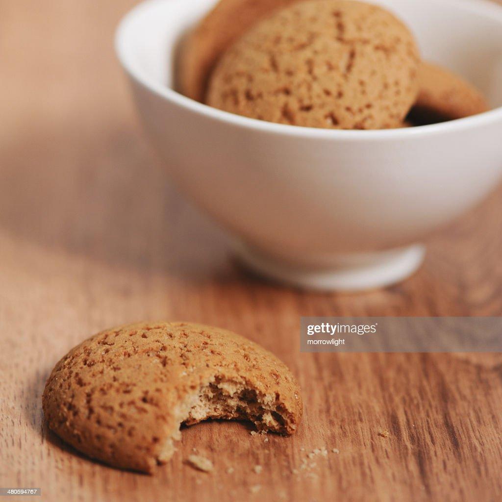 Homemade oatmeal cookies : Stock Photo