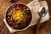 Homemade Organic Vegetarian Chili