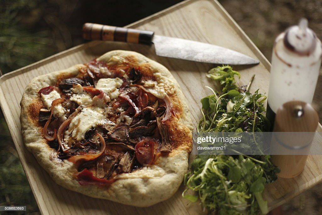 Homemade Pizza : Stock Photo