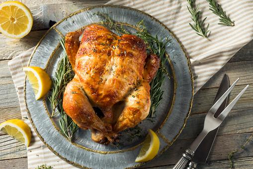 Homemade Rotisserie Chicken with Herbs 937574254