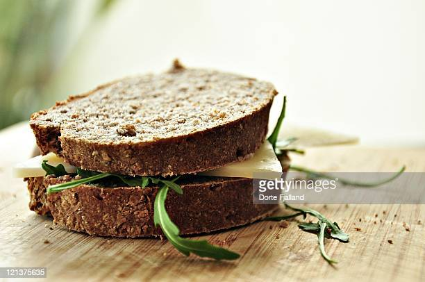 homemade sandwich - dorte fjalland stock pictures, royalty-free photos & images
