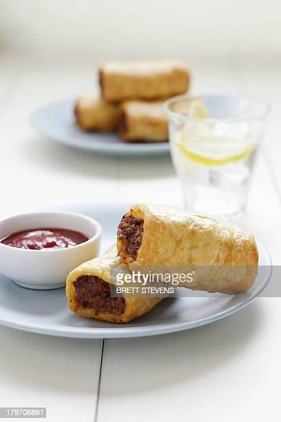 Homemade sausage rolls