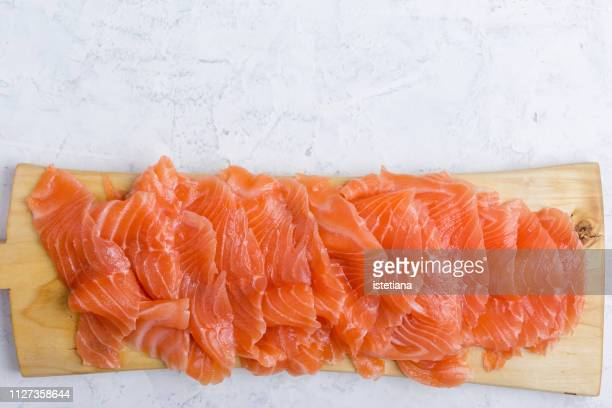 homemade smoked salmon - 鮭料理 ストックフォトと画像