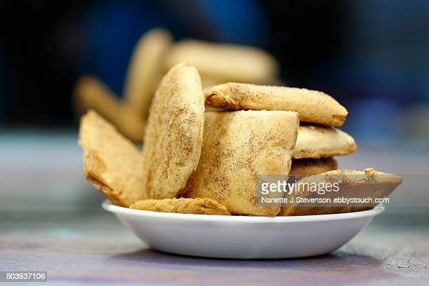 homemade snickerdoodle - snickerdoodle stock pictures, royalty-free photos & images