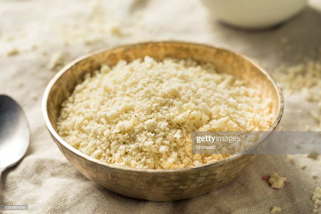 Homemade Spiced Panko Bread Crumbs : Stock Photo