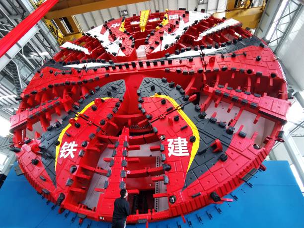 CHN: Homemade Tunnel Boring Machine Rolls Off Production Line In Changsha