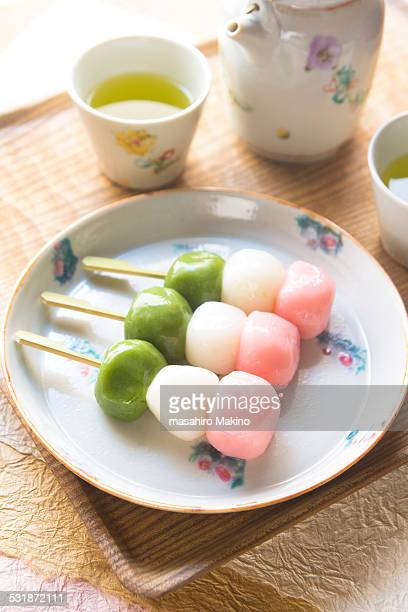 Homemde Three Color Dumplings