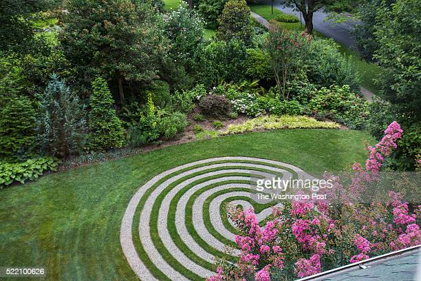 Homeowner Vicky Baily installed a labyrinth in her yard for herself and neighbors to enjoy