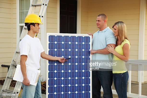 Conversion de propriétaires sélectionnés pour Solar de l'électricité
