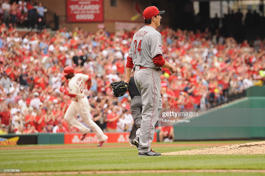 Cincinnati Reds v St. Louis Cardinals : News Photo