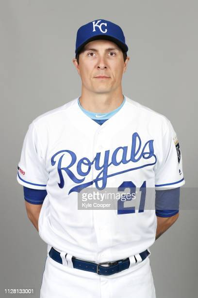 Homer Bailey of the Kansas City Royals poses during Photo Day on Thursday February 21 2019 at Surprise Stadium in Surprise Arizona