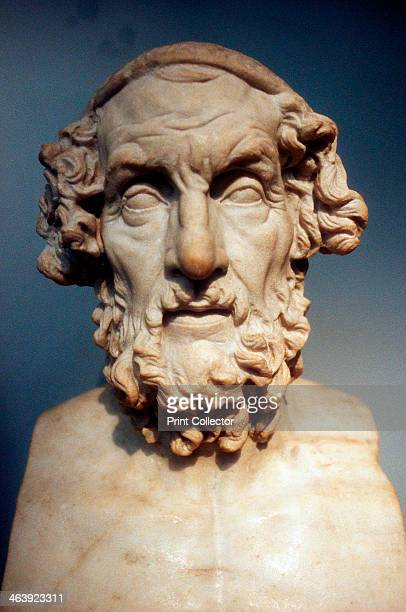 Homer Greek epic poet Homer is credited with the authorship of the great epic poems the Iliad and the Odyssey Roman copy of a lost Greek bust of 2nd...