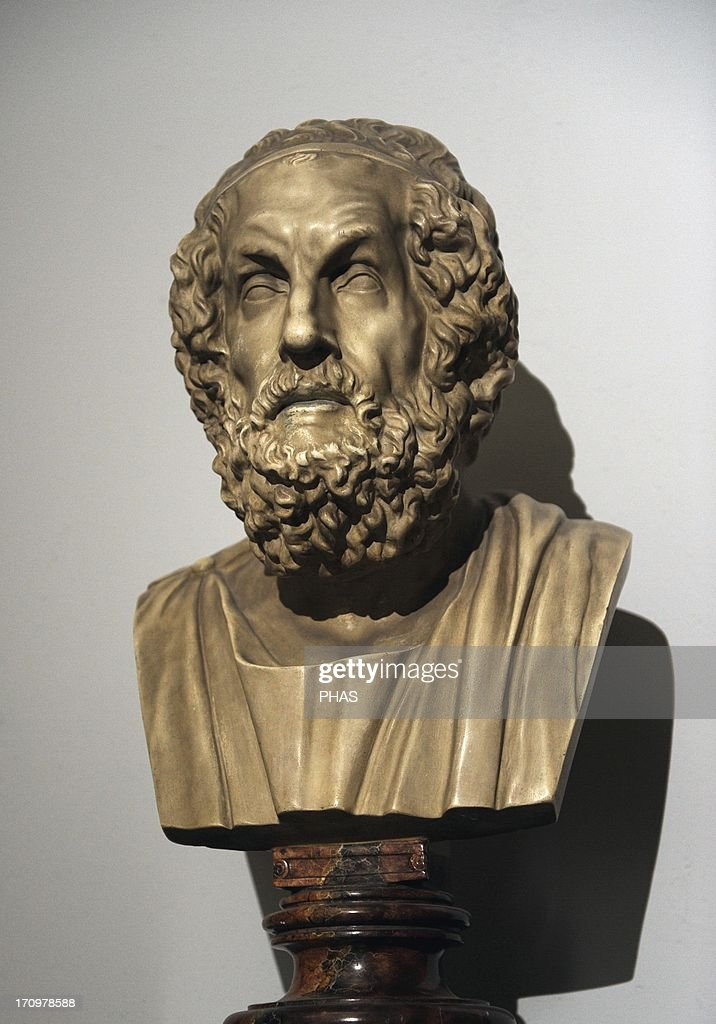 Homer. Bust. : News Photo