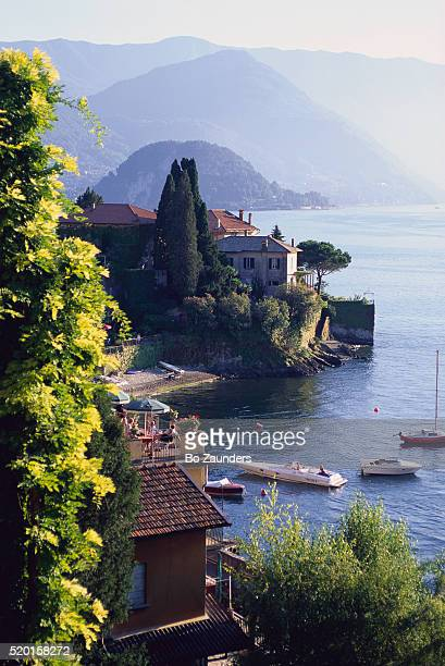 Homes Along Lake Como