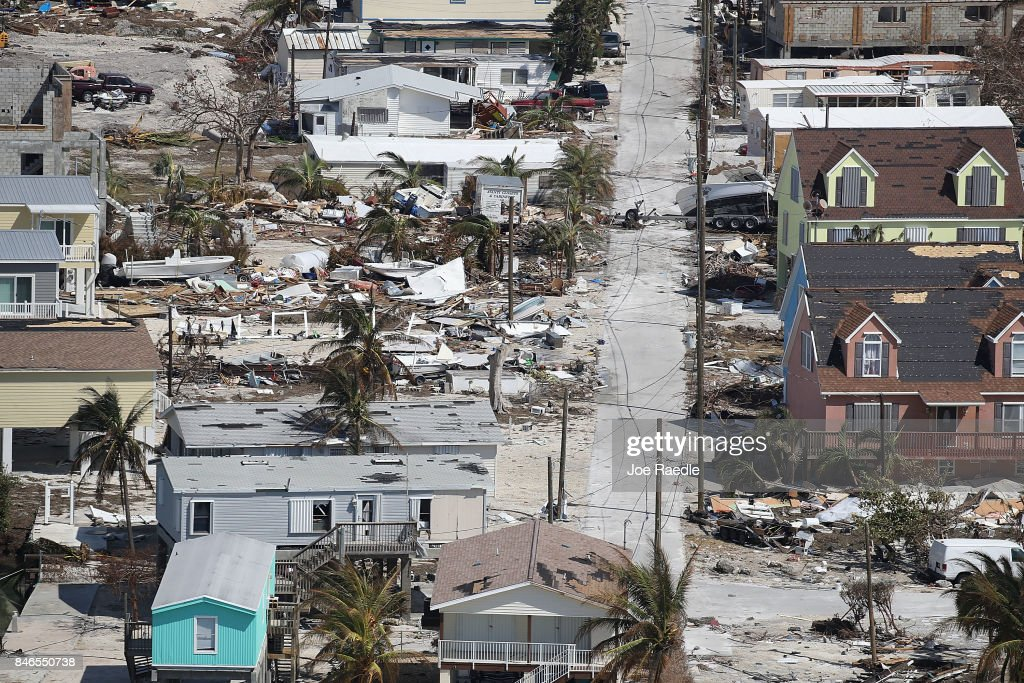 Florida Begins Long Recovery After Hurricane Irma Plows Through State : News Photo
