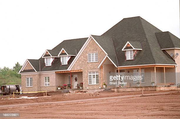 Homes completed or under construction in the tony Glen Williams Estates, a collection of 30 homes being built by Chaleston Homes. They are in a dale...