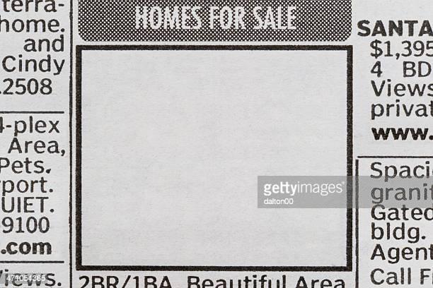 住宅販売 ii - クラシファイド広告 ストックフォトと画像