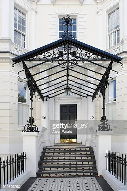 homes in holland park - holland park stock pictures, royalty-free photos & images
