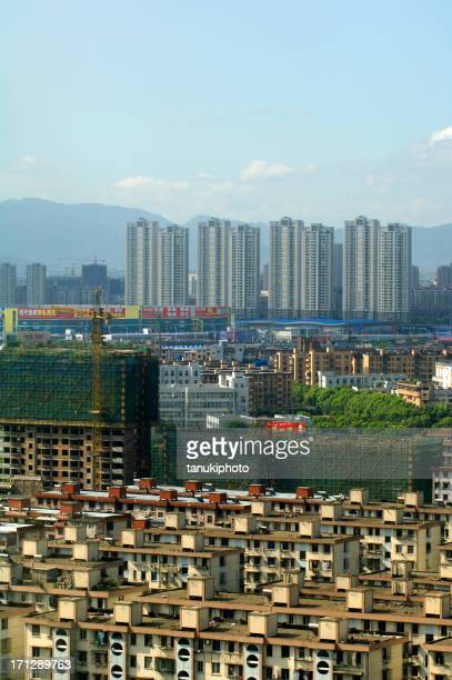 homes in ningbo - ningbo stock pictures, royalty-free photos & images