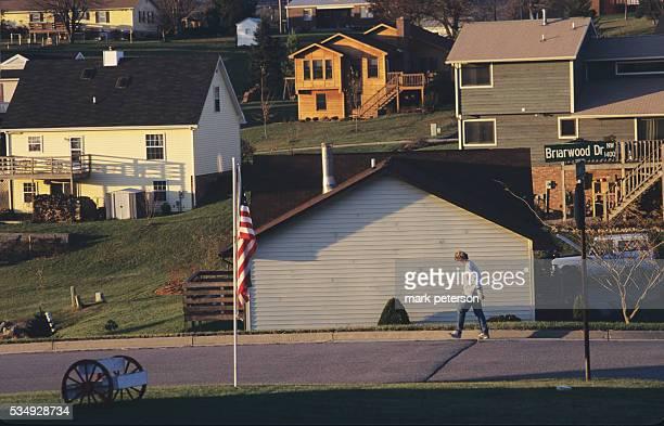 Homes in Suburban Blacksburg Virginia