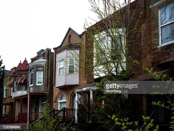 Homes in the Greater Grand Crossing neighborhood of Chicago, Illinois, U.S., on Wednesday, April 28, 2021. The U.S. Economy is on a multi-speed track...