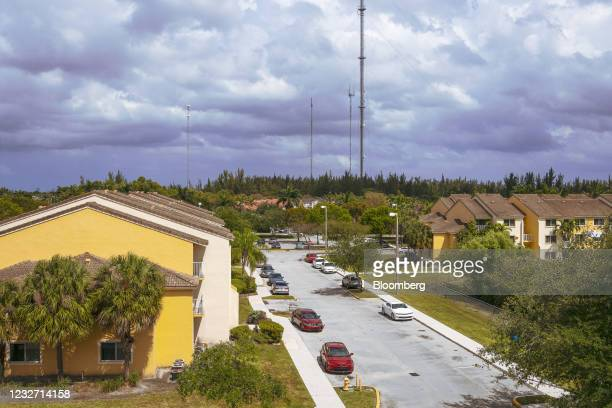 Homes in the Miami Gardens neighborhood in Miami, Florida, U.S., on Monday, April 12, 2021. The U.S. Economy is on a multi-speed track as minorities...